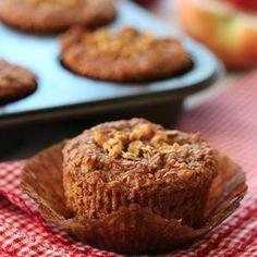 Whole Grain Apple Nut Muffins Recipe