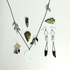 Moorea Seal Jewelry, Winter Collection.  Coming to mooreaseal.etsy.com this week!
