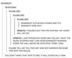I'm dying! Hahaha!