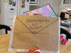 Kinder-Gardening: Art Portfolio