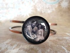 Pretty, affordable custom photo bracelet by Little Gem Girl on Etsy