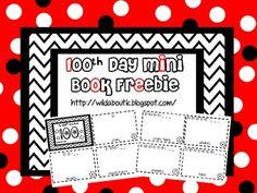 Our 100th Day Mini Book