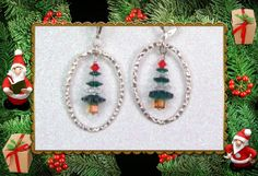 Holiday Christmas Earrings by seahorsemagic on Etsy, $20.00