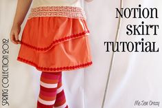 Super easy and cute skirt