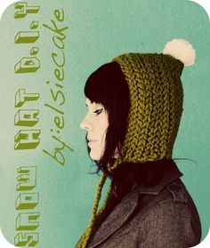 cute pixie style winter hat for my girl