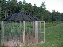 satellite dish coop.