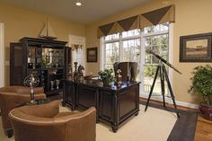 Executive Office Design, Pictures, Remodel, Decor and Ideas - page 5
