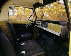 International Scout 800A interior