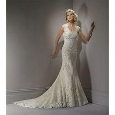 antique gothic lace, mermaid style, lace wedding dress.