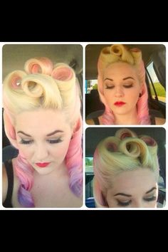 Love pin up inspired looks
