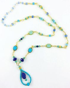 DIY Nefertiti Necklace