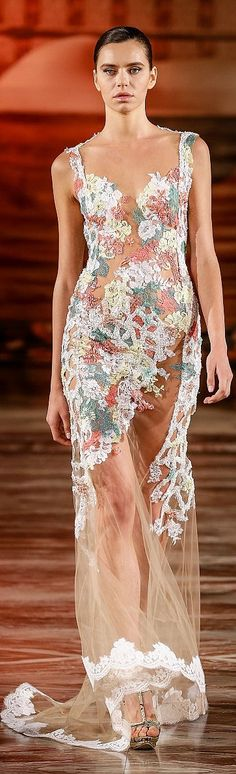 Toufic Hatab Couture Fall/Winter 2014-2015