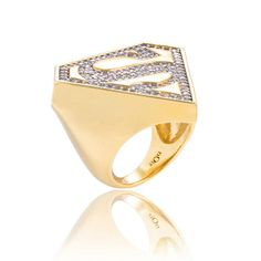 Supergirl Ring now featured on Fab.