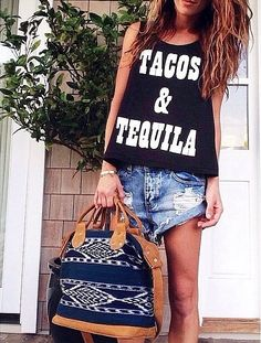 Tacos and Tequila :) I need this shirt!
