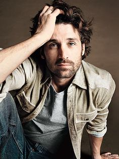 """Patrick Dempsey-  As a kid I liked him in a little movie called """"Extra Anchovies"""" (don't know why my mom let me watch that...)  Liked him in everything since.  He seems very down to earth, honest, empathetic, yet very manly. One of my very favorites!"""