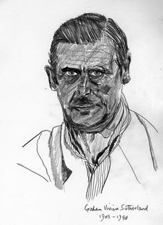 Graham Sutherland portrait for flickr PIFAL group