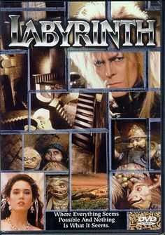 One of my favorite movies when I was a kid. Also one of the most terrifying.  David Bowie scared the heck out of me in those tight pants!  And remember the farting stepping stones! Lol
