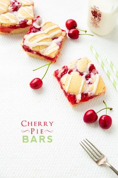 Cherry Pie Bars | Cooking Classy