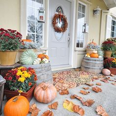 Fall porch!