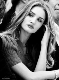 Beautiful Rosie Huntington-Whiteley, black and white photography  #KyFun moved from Kythoni's Rosie Huntington-Whiteley board: http://www.pinterest.com/kythoni/rosie-huntington-whiteley/ m.14.3