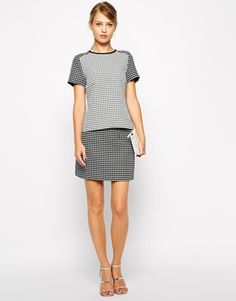 Oasis Geo Jacquard Co-Ord Skirt