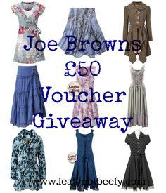 Joe Brown Giveaway!