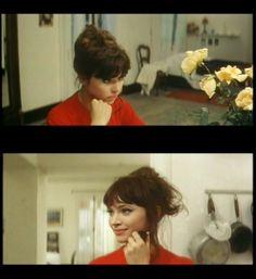 I watched Une Femme est une femme last night, again.