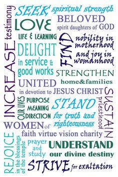 Relief Society Declaration