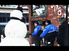The Scary Snowman, this video is so funny.