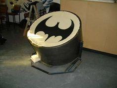 Bat-signal Papasan Chair papasan chair, stuff, chairs, batsign papasan, awesom