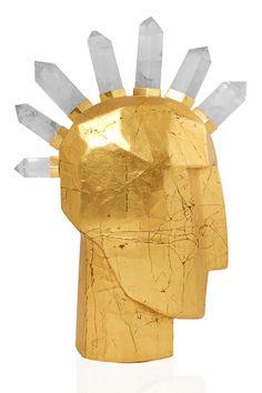 Kelly Wearstler Head Trip Sculpture #kellywearstler