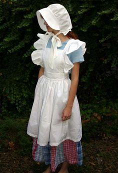 I'd like to make a pinafore apron like this.