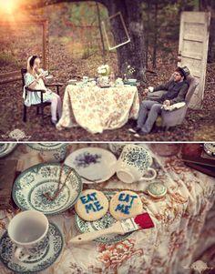 Alice in Wonderland. Love this.