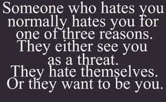 Let the haters hate...