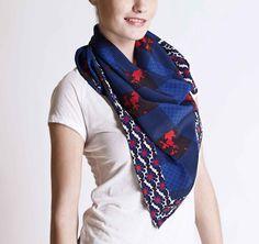 Michel Klein SS2013 Scarf #ModeWalk #luxury #fashion #MichelKlein #scarf #print #mixedprints luxuri fashion, ss2013, luxury fashion, modewalk, high fashion, scarves, scarf print, prints, print scarf