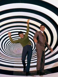 James Darren & Robert Colbert in The Time Tunnel (1966-67, ABC)