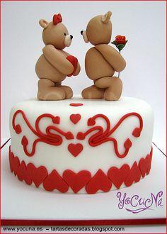 TARTA SAN VALENTIN - CAKE VALENTINE´S DAY