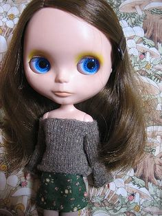 Blythe patterns on Pinterest | Blythe Dolls, Doll Tutorial and Clothes