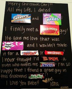 Valentine's Day Candy Card ~ love it!!!