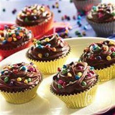 Mini #Funfetti® #Brownie #Cupcakes from Pillsbury® Baking