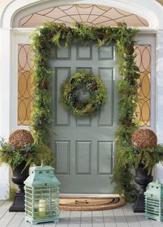 Create nature-inspired curb appeal