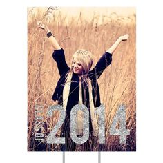 Graduation Party Decorations -- Glam Grad Vertical Yard Sign | Pear Tree Greetings