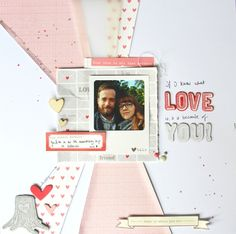 Congrats to this week's Project Spotlight winner, Kathleen! We love how she used our Love You More collection on this beautiful layout!