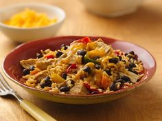 For a simple meal loaded with flavor, try Progresso®'s Black Beans, Chicken and Rice recipe made with canned black beans.