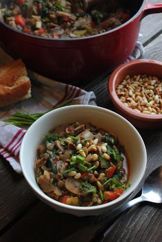 happy hearted kitchen: French Green Lentil & Vegetable Stew
