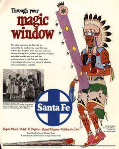 Santa Fe Railroad Items On Pinterest 24 Pins
