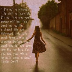 White Horse - Taylor Swift  Truth...