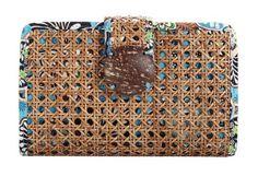 fashion, clutches, women clutch, tiki clutch, vera bradley, blues, bali blue, clutch handbag