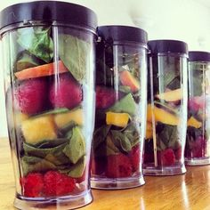 Quick Meal prep your Green Smoothies !