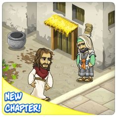 LIKE and SHARE if you FOLLOW JESUS!  PLAY TODAY!     Temple Trickery!  Why are the Pharisees mysteriously   following Jesus to the Feast of Tabernacles?   What are they up to? What do they want?     Find out more in the New Story Maps!